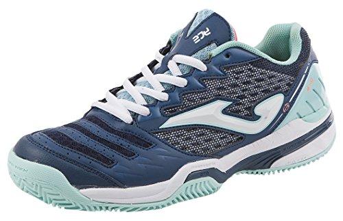 JOMA Ace Lady, Zapatillas de Tenis para Mujer, Azul (Navy), 41 EU