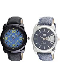 WM Stylish Watches For Boys And Men Combo Gift Set With Sunglasses AWCx-016-BK-017aeons