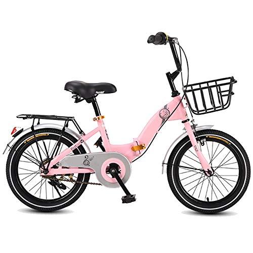 AI CHEN Kinder Klappfahrrad Mädchen Fahrrad Grund- und Mittelschule Auto Kind Kinderwagen Fahrrad 16 Zoll 20 Zoll