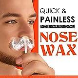 Cocohot Nasenhaare Wachs Haarentfernung, Nasen Wachs Kit für Männer und Frauen, Nasenhaarentfernung Wachs, Nasenhaar Prozessor Festwachs