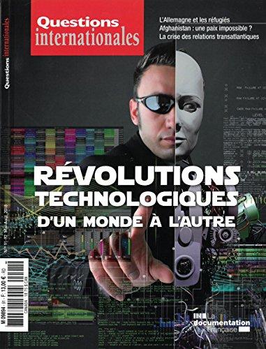 Révolutions Technologiques : d'un Monde a l'Autre par La Documentation Fra