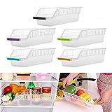 Rameng 1PC Plastique Boîte Corbeilles de Rangement pour Conteneur Réfrigérateur Organiseur Transparent