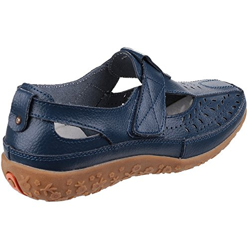 Fleet And Foster Womens/Ladies Pinot Summer Shoes Navy