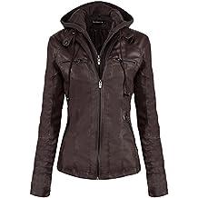 Amazon.es: chaquetas moto invierno - Marrón