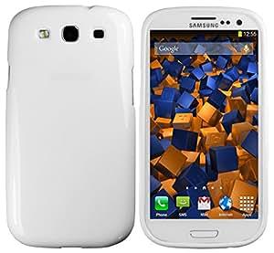 mumbi TPU Skin Case für Samsung Galaxy S3 / S3 Neo Silikon Tasche Hülle - Silicon Protector Schutzhülle weiss