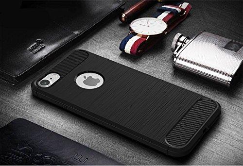 Cover iPhone 7 iPhone 8, Sportfun morbido protettiva TPU Custodia Case in silicone per iPhone 7 iPhone 8 (05) 01