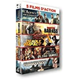 5 films d'action : L'agence tous risques + Bad Ass + Deadly Impact + Bad Yankee + Commando