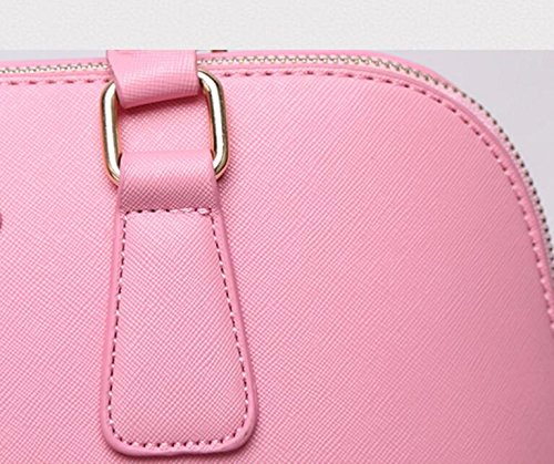 FZHLY Versione Coreana Nuovi Europei E Americani Di Moda Della Piccola Di Spalla Fresca Pacchetto Messenger Shell,Pink Green
