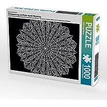 Premium Textil-Leinwand 45 cm x 30 cm quer Ein Motiv aus dem Kalender Entspannung und Ruhe durch Mandalas