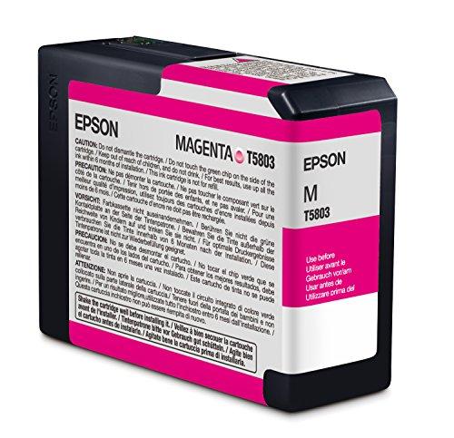 Epson T5803 Cartouche d'encre d'origine 1 x magenta