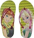 Disney Frozen \ Die Eiskönigin Flip Flops \ Strandschuhe, Motiv:Frozen, Größe:31/32