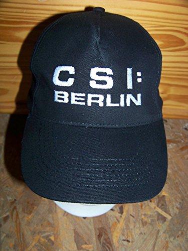 CSI - Abverkauf , CSI: BERLIN - Logo Hat Basecap Cap Mütze , NEU , Logo aufgestickt! Kostüm , Karnevall , Fasching