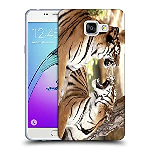 Snoogg Roaring Tiger Designer Protective Back Case Cover For SAMSUNG GALAXY A5 2016