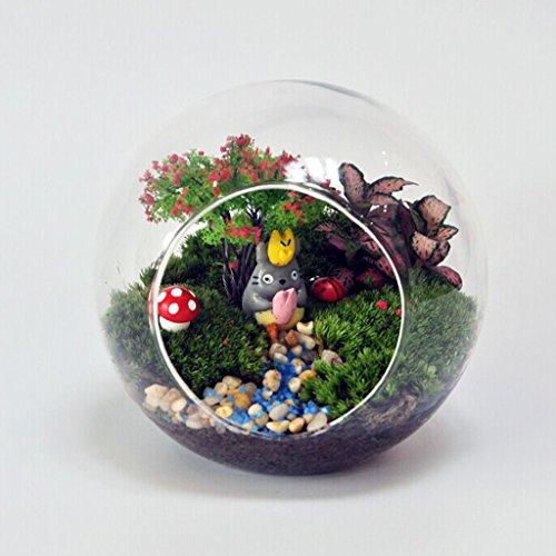 Gazechimp Transparent Kugelvase Glasvase Weihnachten Geburtstage Geschenk