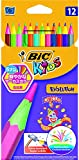 BIC Kids Evolution Colouring Pencils, Pack of 12