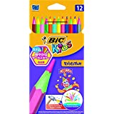 BiC Kids Evolution Circus Colouring Pencils (Pack of 12)