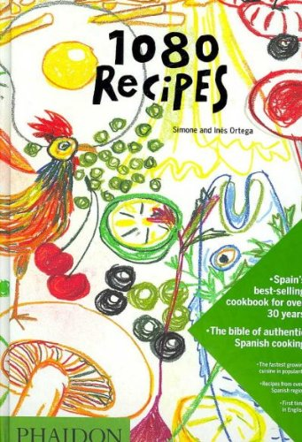 { 1080 Recipes Hardcover } Ortega, Simone ( Author ) Oct-01-2007 Hardcover