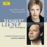 Schubert : Lieder avec orchestre (orch. Britten, Brahms, Reger, Berlioz, Webern .)