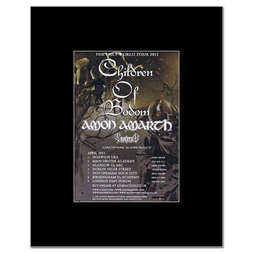 UK Tour 2011 Matted Mini Poster - 13.5x10cm ()