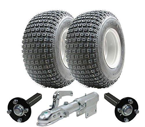 ATV-Anhänger-Kit - Quad-Anhänger - Wanda Räder + Stahl Press-Produktion Nabe / Stub, Swivel Hitch 200kg (Utility Trailer Zum Verkauf)