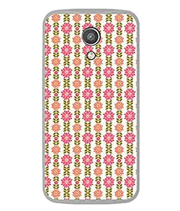 PrintVisa Designer Back Case Cover for Motorola Moto G2 :: Motorola Moto G (2nd Gen) (Designed well Straight lined)