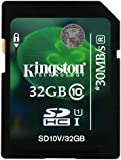 Kingston 32GB SDHC Class 10 Memory Card For Nikon Coolpix S9700 Camera
