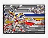 Fahrkarte Ländlich | Limitierte Edition | Original Kunstwerk mit glaslosem Aluminium Rahmen | Pigment Print | Hahnemühle | 71 x 101 cm | Johannes Ernst