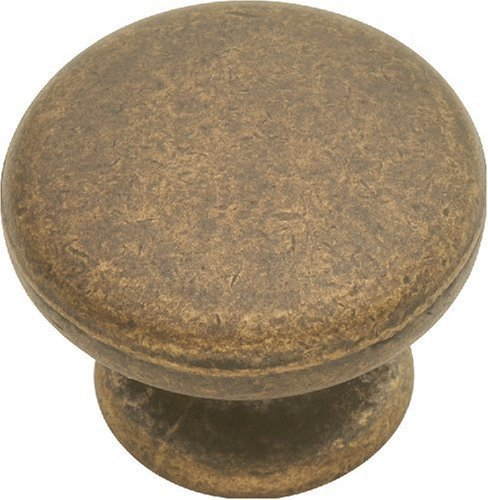 Hickory Hardware PA1216-WOA 1-1/4-Inch Oxford Antique Knob, Windover Antique by Hickory Hardware -
