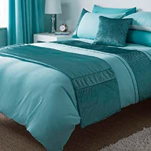 catherine lansfield runner bleu canard cuisine maison. Black Bedroom Furniture Sets. Home Design Ideas