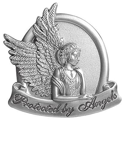 """Engel-Clip z.B für Sonnenschutzklappe """"Protected by Angels"""" Car Visor Clip von Angel Star"""
