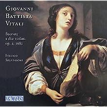 Vitali: Sonatas For 2 Violins [Italico Splendore] [Tactus: TC 632203]