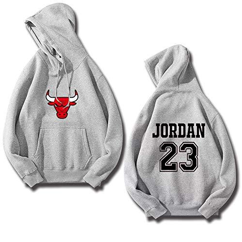 JXYA-Sudaderas Basket Ball Hooded Long Sleeve