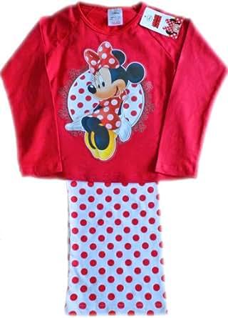 Disney Minnie Mouse Polka Dot Pyjamas 3 4 5 6 7 Years aw13 (5-6 Years)