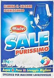 Sale Purissimo - Sale Granulare, Elimina Il Calcare Igienizzando, Specifico Per Macchine Lavastoviglie - 1 kg