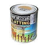 Saratoga flatting 750ml finitura trasparente per legno all'acqua per interni ed esterni (lucido)