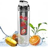 AVOIN colorlife 800ml Tritan Water Fruit Infuser Bottle (Many Color Option) - BPA Free