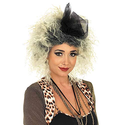 Fun Shack Damen Costume Kostüm, Womens 80s Pop Star Wig, - Pop Star Kostüm