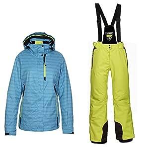 Killtec Malaya–Combinaison Ski Femme 38