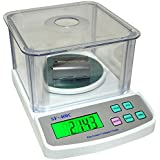 Baijnath Premnath Digital 500gm x 10mg (0.01g) Jewellery Weighing Scales with Wind shield and Direct Power Adapter {for research}