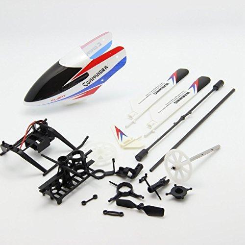 Creation® WLtoys-V911 V911 v2-pro Rc Helicopter Accesorios Bolsa de piezas de repuesto tapa de la culata Kv911-0001 Balance Bar Principal lámina principal eje conecta la hebilla
