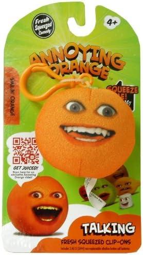 Annoying Annoying Annoying Orange TakeAlongs 2 1/4 Inch Talking Plush ClipOn Smiling Orange B0068QOBS2 ec906d