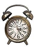 Grande orologio tradizionale in metallo stile orologio sveglia - Oro verniciato da Haysoms