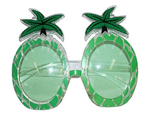 Halloweenia - Palmen Beach Sonnenbrille, Party-Brille Kostüm Zubehör , (Funny Party Beach Kostüme)