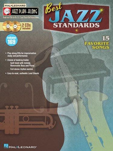 Best Jazz Standards [With 2 CDs]: 169 (Hal Leonard