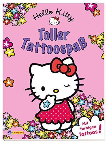 Preisvergleich Produktbild Hello Kitty Toller Tattoospaß: mit farbigen Einmal-Tattoos