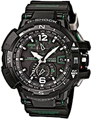 Casio GW-A1100-1A3ER - Reloj (Pulsera, Masculino, Negro, CTL1616, 5,38 cm, 1,73 cm)