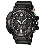 Casio Unisex Analogue Watch with Black Dial Analog - Digital Display - GW-A1100-1A3ER