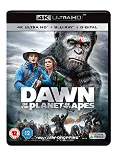Dawn Of The Planet Of The Apes 4K Ultra HD + Blu Ray