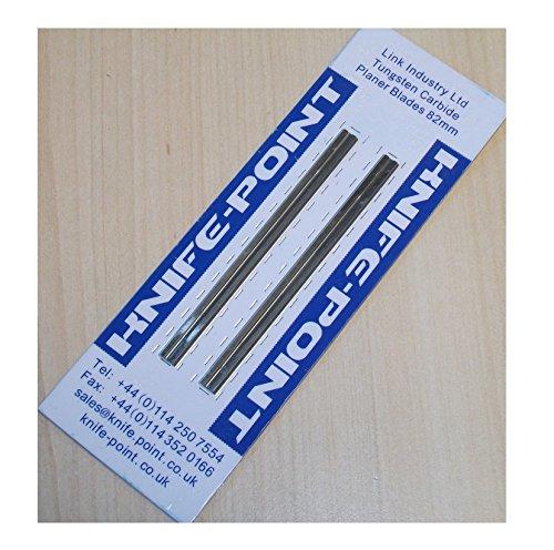 Ersatz wendbar gleiten Klingen (2Pro Pack) (, um: Bosch PHO und GHO Hobel) (Bosch Pt No 2607000096) Hartmetallbestückt Hochwertigen Material, Qualität 100{265322cf5a5b93c0b329c43946362efcc836e03f82b0c4c0e347a03a813d7a02} garantiert, schnelle Lieferung