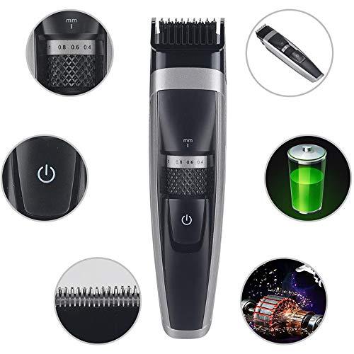 Tagliacapelli con lame di titanio fai da te impermeabile capelli trimmer barba rasoio elettrico taglio di capelli NINI-KLT-6188